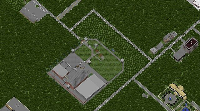 The walking dead world minecraft project the prison sciox Gallery