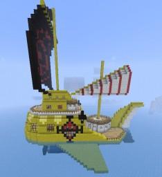 TRAFALGAR-LAW'S SUBMARINE (POLAR TANG), ONE PIECE Minecraft