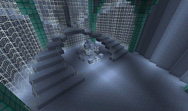 Frozen elsa 39 s ice castle minecraft project for Room design elsa