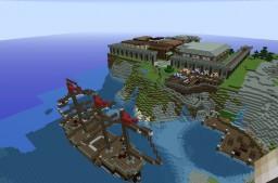 My new Towny server ! TrekCraft Minecraft Map & Project