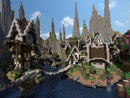 Valley of Wildeholt - Server Spawn or Scenic Project Minecraft Project