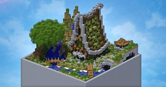 Small Plot 1 Fantasy Cottage Minecraft Project