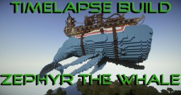 Zephyr the Floating Whale Minecraft Map & Project