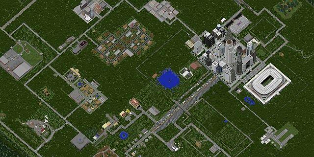 The Walking Dead World Minecraft Project