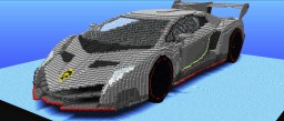 Lamborghini Veneno (With 70,000 TNTs) Minecraft Map & Project