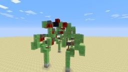 Walking Robot Minecraft Map & Project