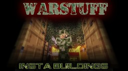 [1.7.2] WarStuff v1.1 [IS BACK!] More knives, reinforced materials, fixes, changes and MORE!