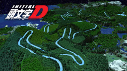 Initial D MOUNT AKINA Ice Boat Race Map Minecraft Map & Project