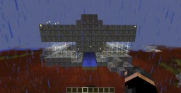 BLOODSTONE Defence House! (No Mob Can Enter!) Minecraft Map & Project
