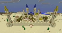 Small sandy city Minecraft
