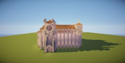 Small Cathedral Minecraft Map & Project
