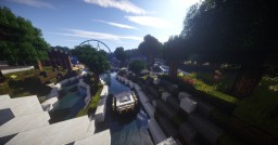 Adventure Falls River Rapids | AC Minecraft Map & Project