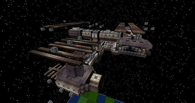 Galacticraft Spacestation Iss Shuttle Solar And More