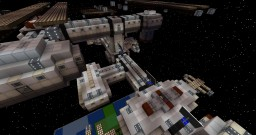 Galacticraft Spacestation - [ISS] [Shuttle, Solar and More!] [Minecraft Project] Minecraft Map & Project
