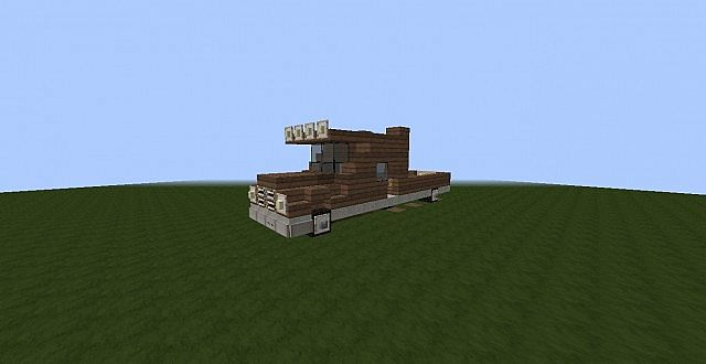 how to build a truck in minecraft