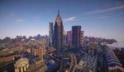 Last of Us Inspired Post Apocalyptic City Minecraft Map & Project