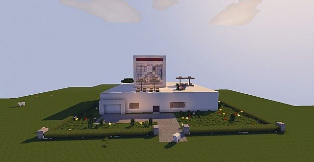A grande casa moderna minecraft project for Casa moderna 2 minecraft