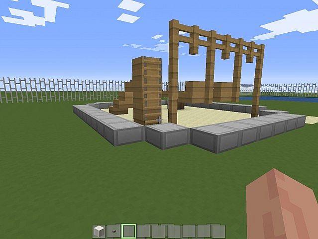 The Regular Show Park Minecraft Project
