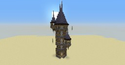 wizard tower / mage tower Minecraft Map & Project