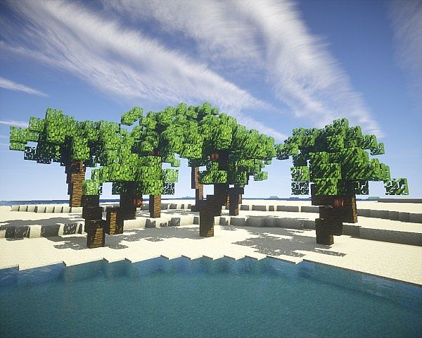 Beautiful Tree Pack Minecraft Project