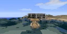 Modern Beach House Minecraft