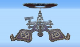 Small Server Hub Minecraft Map & Project