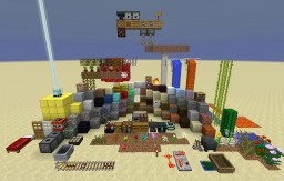 All of the Blocks on One Screen (Texture pack reviewer) Minecraft Map & Project