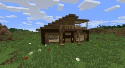 Fancy Wooden House by Mar2ius Minecraft Project