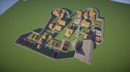 Wooden Manor + Protected and Well Lit Village Minecraft Map & Project