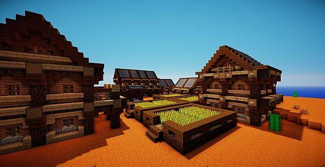 Mesa Village Minecraft Project