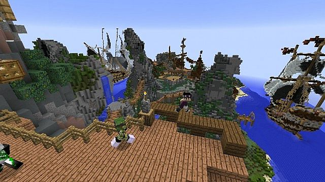 Observation point of our new spawn!