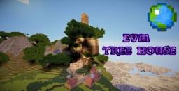 EVM Tree House (Head into the clouds contest) Minecraft