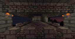 Fort on Mountain Minecraft