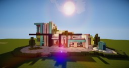 Fully Furnished Modern Mansion | Amazing Minecraft Project