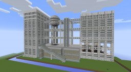 Fujisankei Communications Group Bill Minecraft Map & Project
