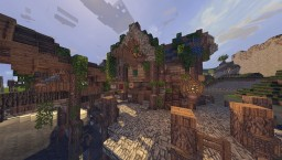 French port town. Minecraft Map & Project