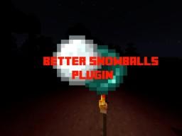 [Plugin] BetterSnowballs [PvP] [Mobs] [Items]