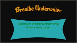 [Bukkit Plugin] [1.7.9] BreathUnderwater - Potion Effect Minecraft Mod