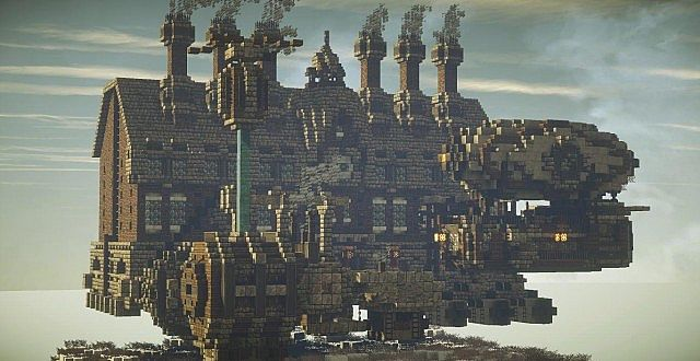 Hubbert INC Steampunk Factory Minecraft Project