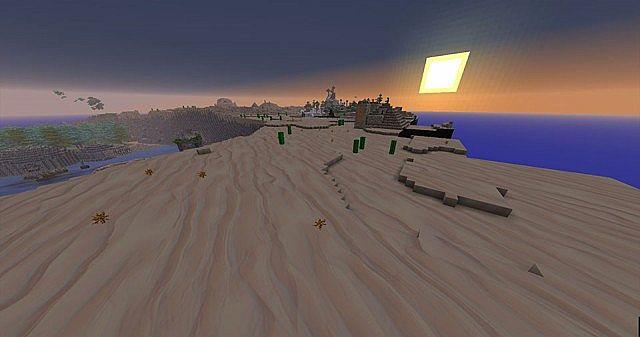 non-shader desert