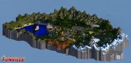FunVille.eu – Server Hub Minecraft Project
