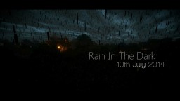 Rain in the Dark - A Horror Machinima Minecraft Blog Post