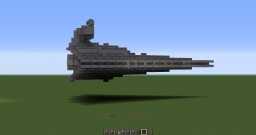 Star Wars - Mini Star Destroyer 1:26 scale. Minecraft Map & Project