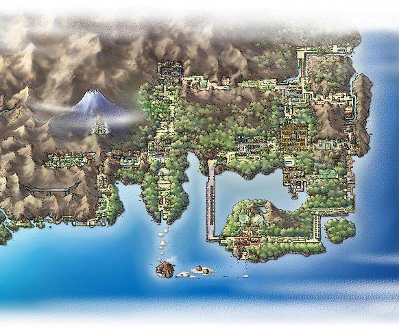 Pixelmon Kanto Map