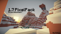 PixelPack by Cichyy [5000+ DOWNLOADS!] Minecraft Texture Pack