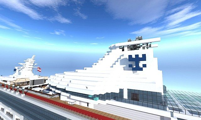 M S Legend Of The Seas Minecraft Project