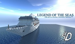 M/S Legend of the Seas Minecraft Project