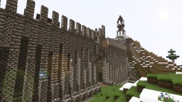 Medieval Town [Gate town] Minecraft Project