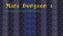[ADV] Mini Dungeon 1 Minecraft Project
