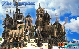 [Persian Steampunk] The Outpost - Goof Troop MC plot for MCBuildersCon Minecraft Map & Project